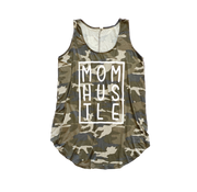Camo Mom Hustle Flowy Tank