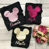 Personalized Disney Tees for Girls - Adults