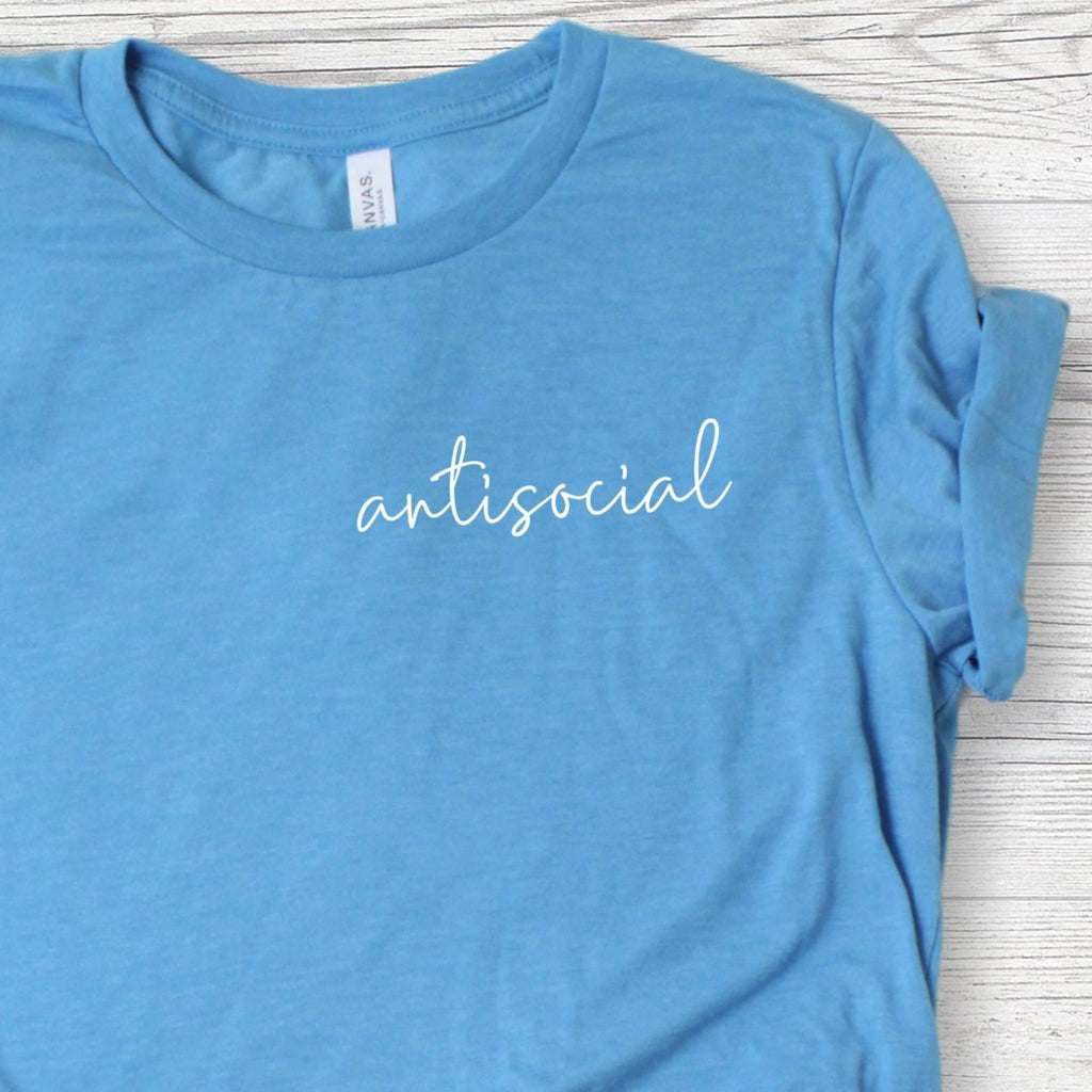 Anti-Social Funny T-Shirt