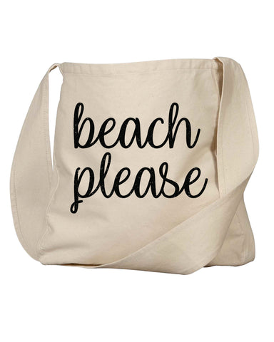Favorite Beach Canvas Tote