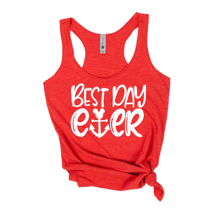 Disney Cruise Best Day Ever Women's Tank Top