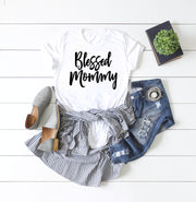 New Mommy Shirt - Blessed Mommy