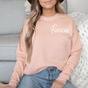 Fiancee Soft and Cozy Crew Neck Pull Over