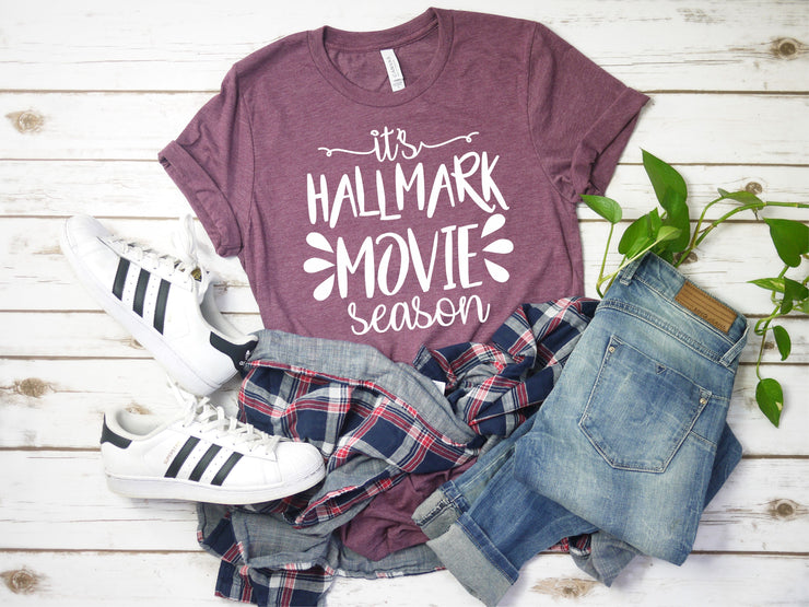 "Hallmark Movie Shirt - ""It's Hallmark Movie Season"""