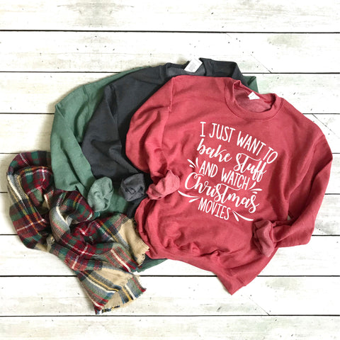 Funny Christmas Sweatshirts - Various Sayings