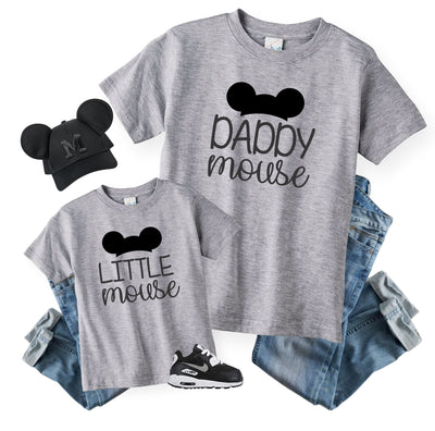 Daddy and Son Matching Disney Shirts