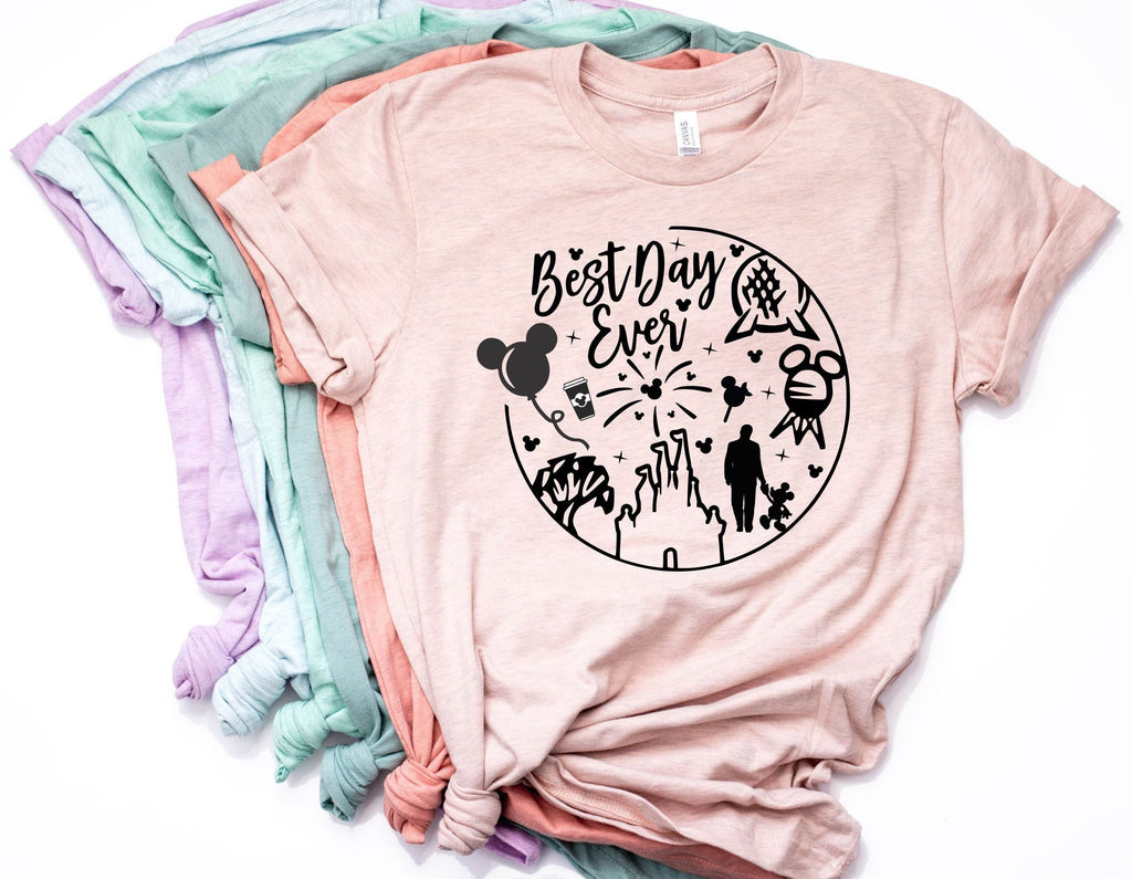Disney Best Day Ever Tee for Women
