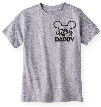 Matching Family Shirts - Disney Daddy