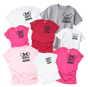 Matching Family Shirts - Disney Mama