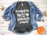 Women's Fall Tee- Pumpkin Spice