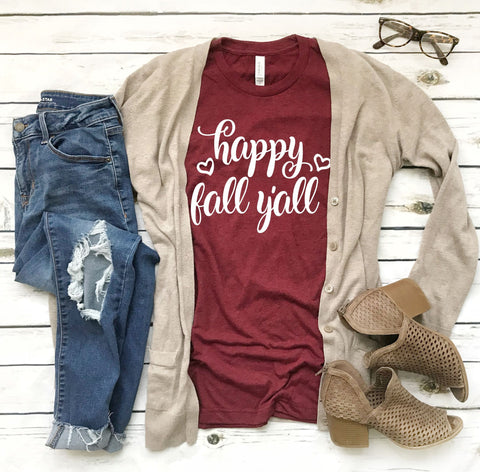 99635bb0 Sale Clearance - Women's Fall Tee- Fall Y'all