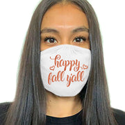 Fall Face Masks - White