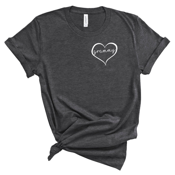 Grammy Shirt With Heart