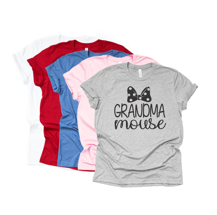 Matching Disney Shirts - Grandma Mouse