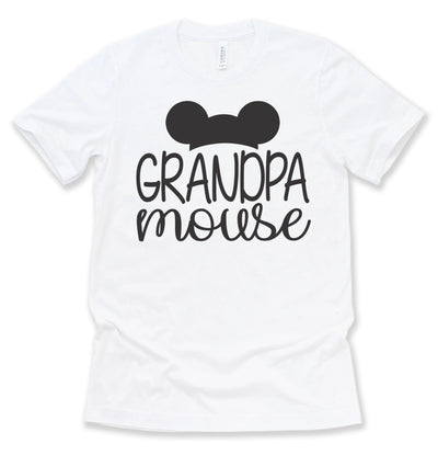 Grandpa Mouse Matching Disney Shirts