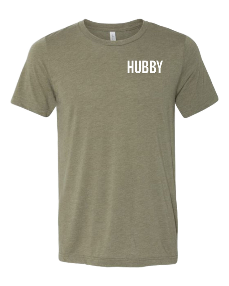 Hubby and Wifey Couples Shirts