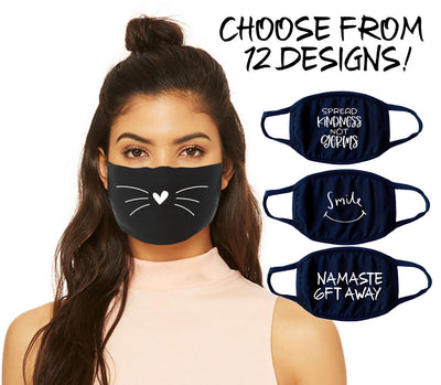 Womens Face Mask - Spread Kindness