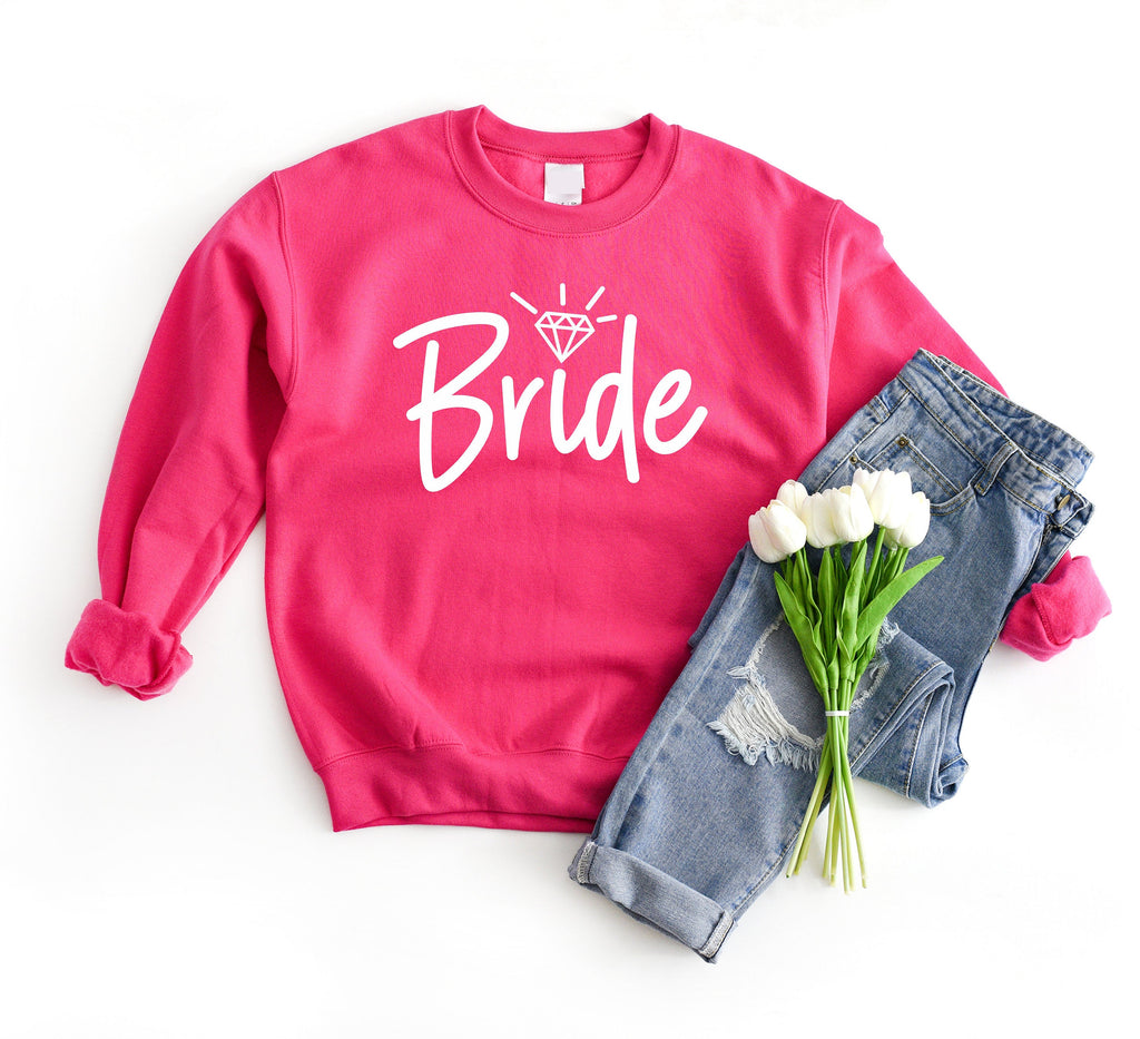 Bride Sweater with Diamond