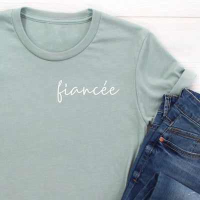 Fiancee Shirt Newly Engaged T-Shirt