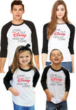 "Family Disney Shirts ""Look Out Disney Here We Come"" (Baby-Adult)"