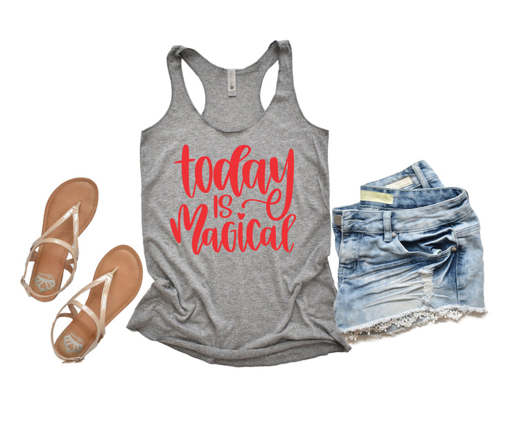 Disney Tank Top - Today is Magical