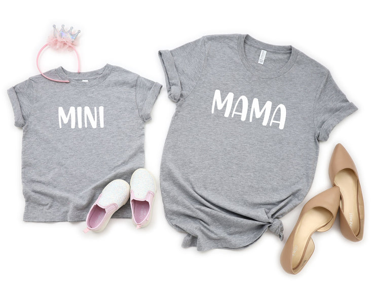 Mama and Mini Matching Shirts