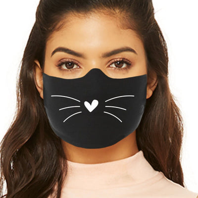 Cat Face Masks - Whiskers
