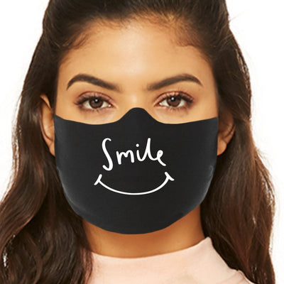 Cute Face Mask - Smile