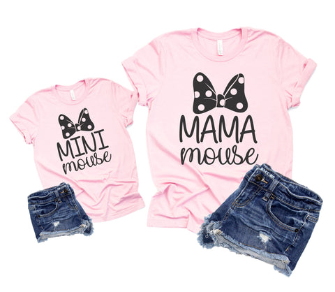 c7bc1bfa4 Mommy and Me Disney Shirts - Mama Mini Mouse