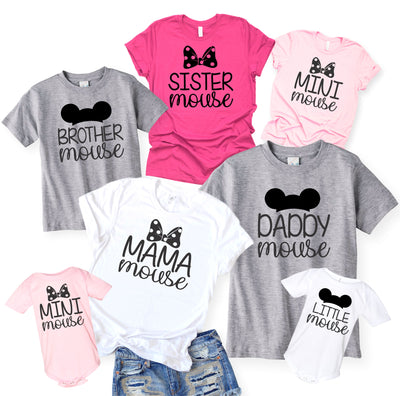 Sister Mouse Matching Disney Shirt