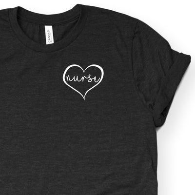 Gift For Nurse - Heart Nurse Shirt