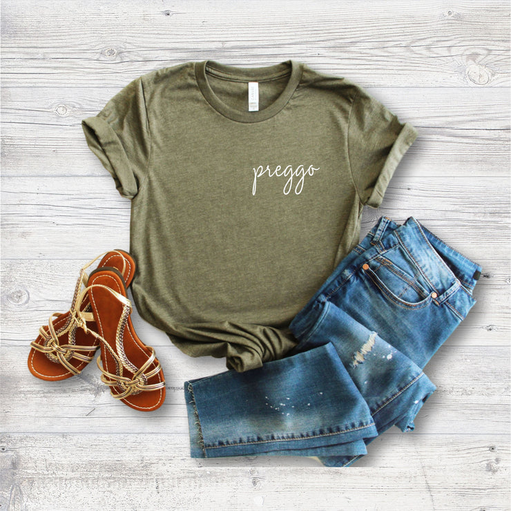 Preggo Shirt Pregnancy Announcement T-Shirt