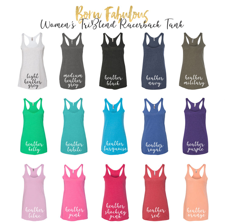 Women's Gym Tank Top - Squat Little Butts