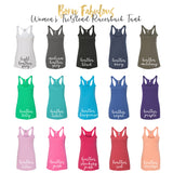 Gym Tank for Women - Buns of Steel
