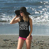 Beach Tank Tops for Swimwear