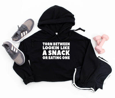 Cropped Gym Hoodie - Looking Like a Snack