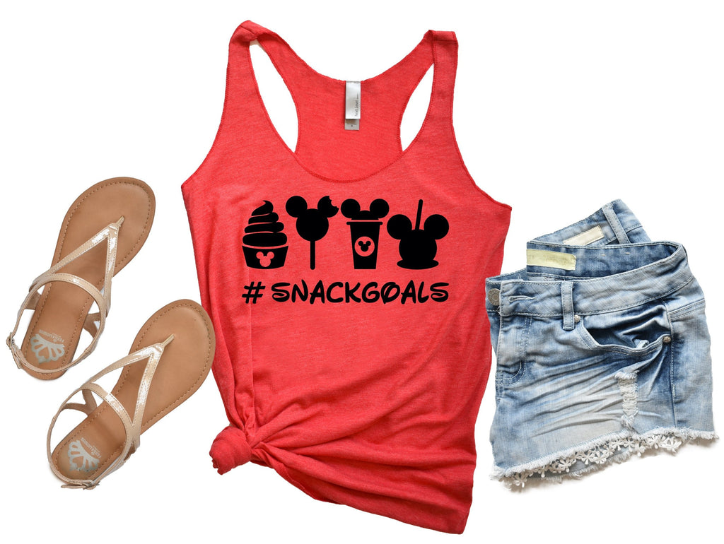 Womens Disney Tank Top - Disney Snacks