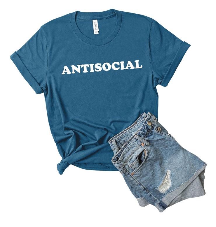 Anti-Social Funny Women's T-Shirt