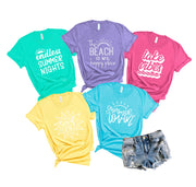 The Beach is my Happy Place Women's Tee
