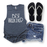 Summer Tank Top for Beach Vacation