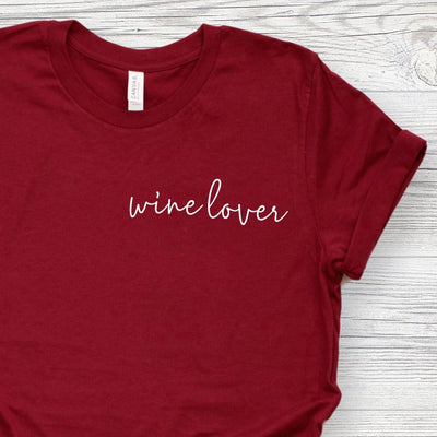 Wine Lover T-Shirt for Women