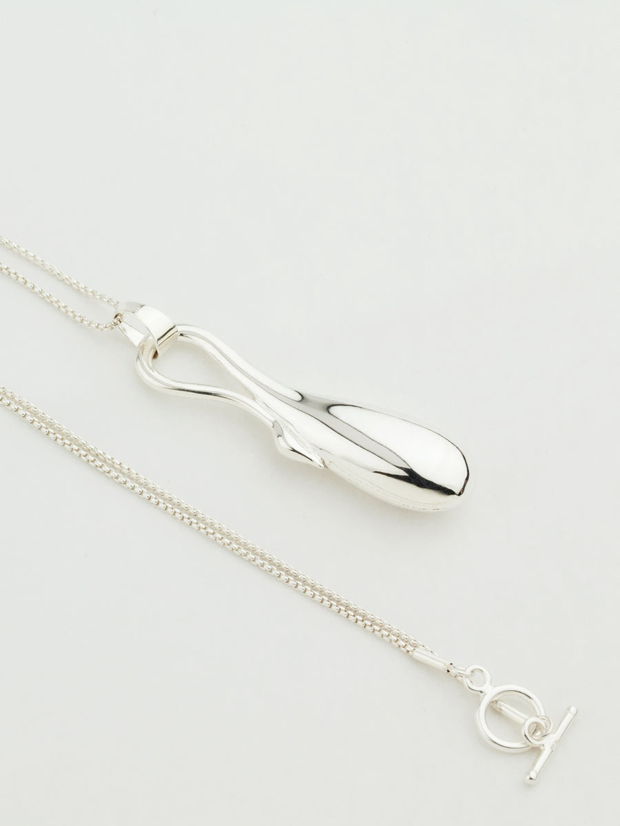 Collum Necklace Silver