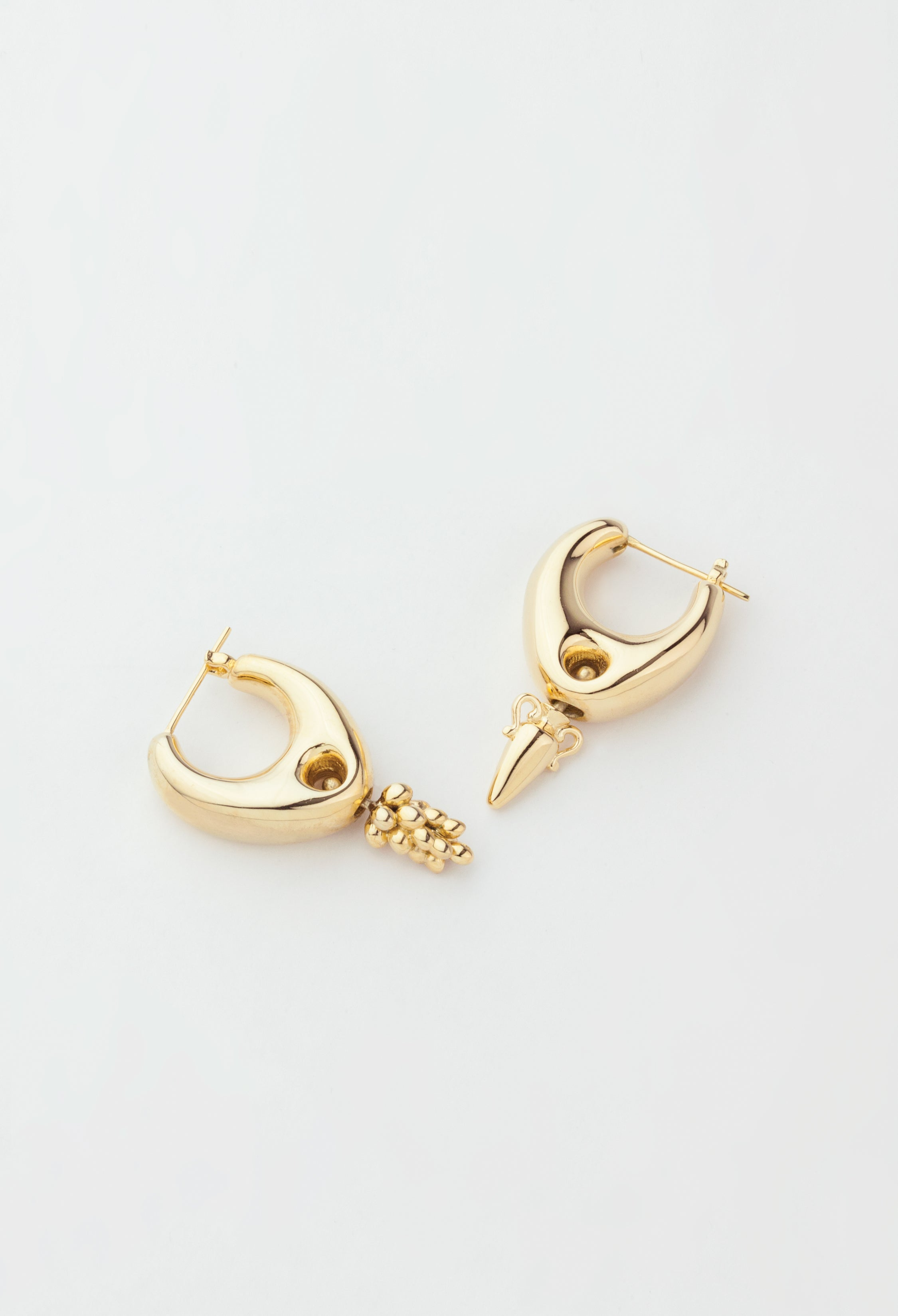 Delphi Earrings Vermeil