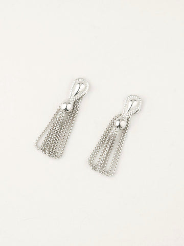 Monarch Duck Earrings Silver