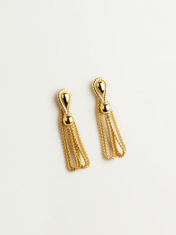 Devi Earrings Vermeil