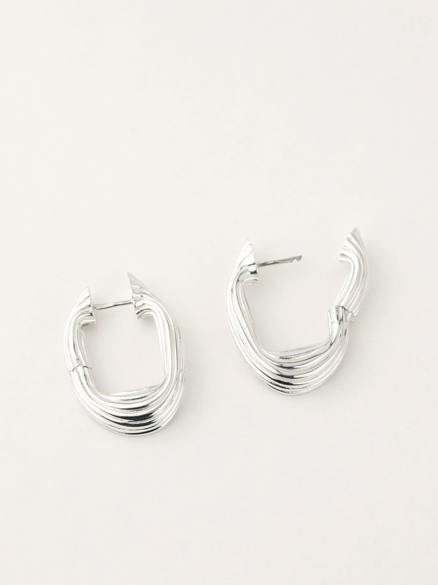 Flō Earrings Sterling Silver