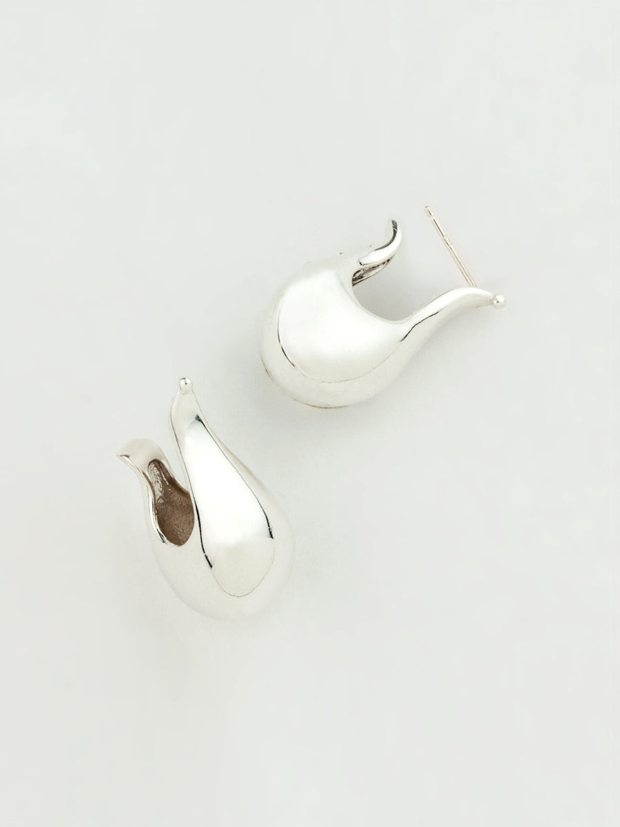 Ophelia Earrings Silver