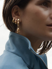 Riya Earrings Vermeil