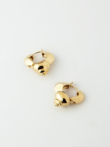 Juno Earrings Vermeil