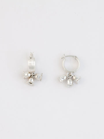 Little Star Earrings Silver